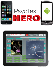 Psyc Test Hero - the best test prep app for Psychology