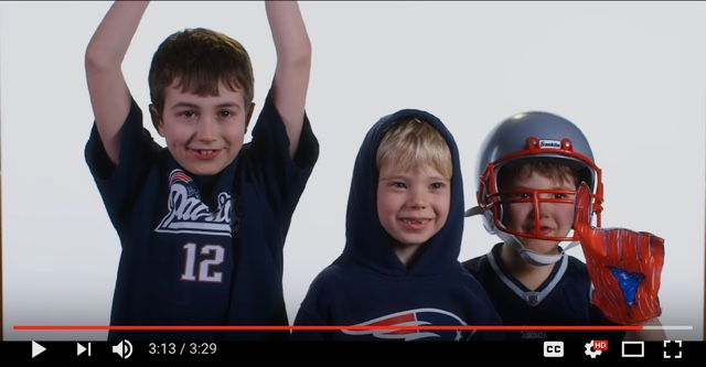 Be Patriots poster video